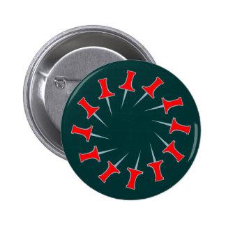 Needles pin circle circle