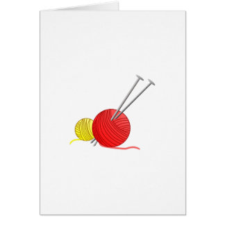 Needles & Yarn Card