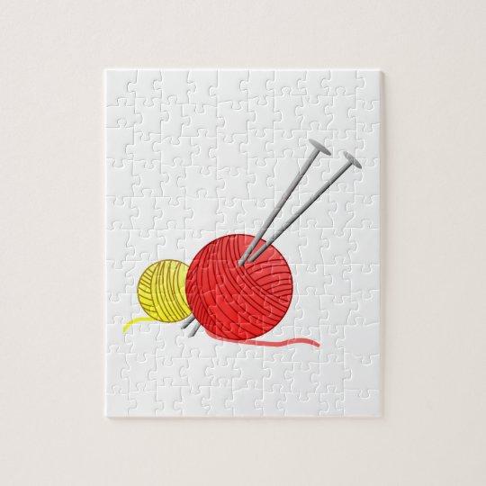 Needles & Yarn Jigsaw Puzzle