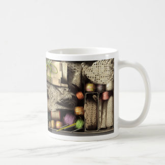 Needlework Box Mug