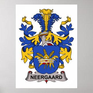 Neergaard Family Crest Poster