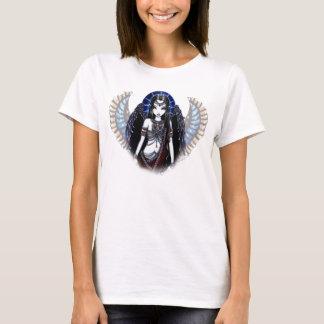 """Nefertari"" Egyptian Angel Brown Babydoll T-Shirt"