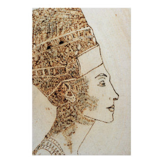 Nefertit, Queen of Egypt Poster