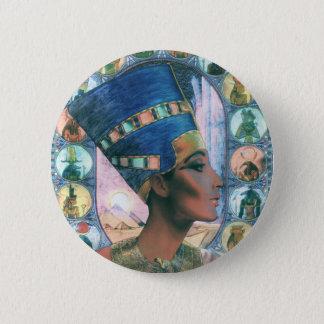 Nefertiti 2 Inch Round Button