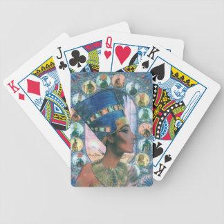 Nefertiti Bicycle Playing Cards