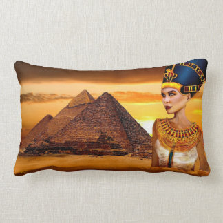 nefertiti egyptian queen Pillow