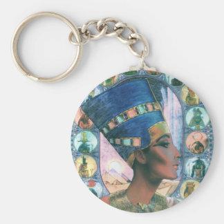 Nefertiti Keychain
