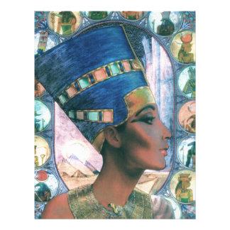 Nefertiti Letterhead