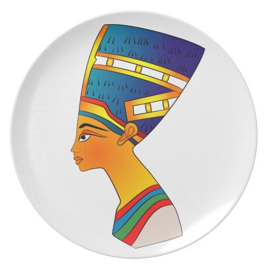 Nefertiti Plate