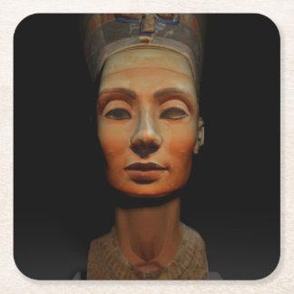 Nefertiti, reigns of dynasty XVIII of Egypt Square Paper Coaster