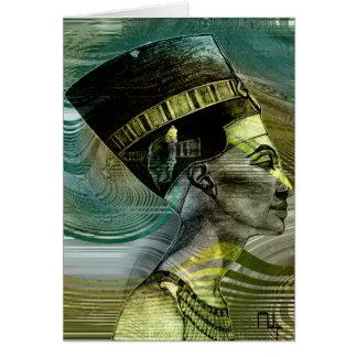 Nefertiti revealed card