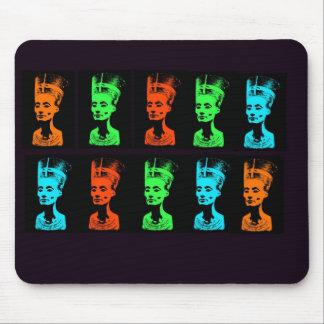 Nefretiti Collage Mouse Pad