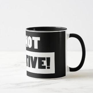 Negative (black) mug