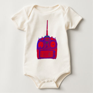 Negative Effect Red/Purple Spektrum RC Radio Baby Bodysuit