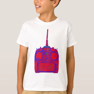 Negative Effect Red/Purple Spektrum RC Radio T-Shirt