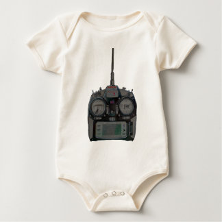 Negative Effect Silver/Red Spektrum RC Radio Baby Bodysuit