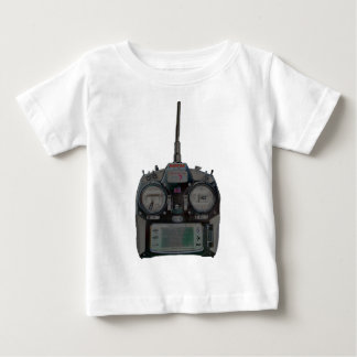 Negative Effect Silver/Red Spektrum RC Radio Baby T-Shirt