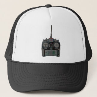 Negative Effect Silver/Red Spektrum RC Radio Trucker Hat