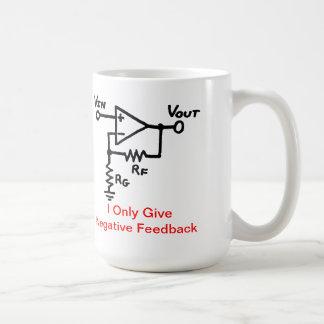 Negative Feedback Coffee Mug