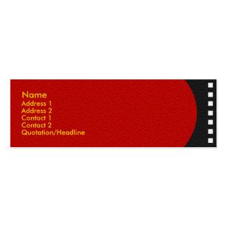 Negative Film Strip Profile Card Mini Business Card