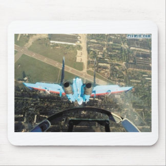negative g nose-over mouse pad