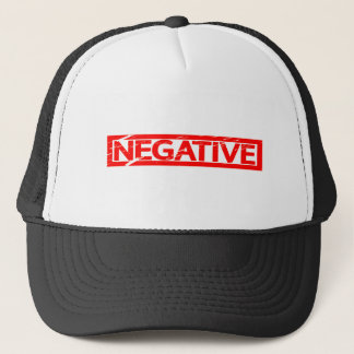 Negative Stamp Trucker Hat