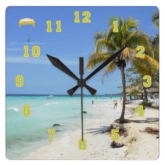 Negril Beach Jamaica Clock