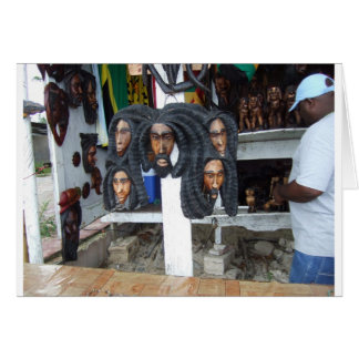 Negril Craft Vendor Card