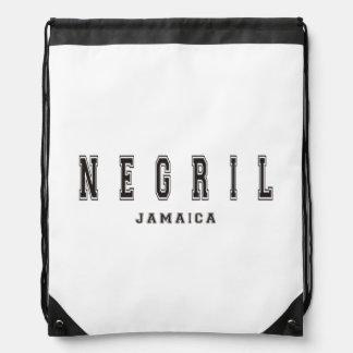 Negril Jamaica Drawstring Backpack