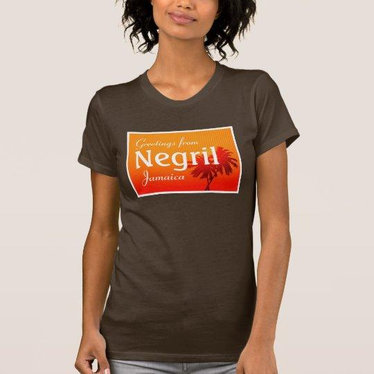 Negril, Jamaica shirt. T-Shirt