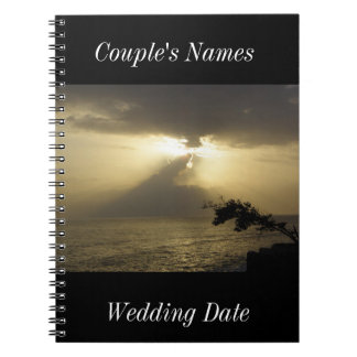 Negril Jamaica Wedding Guestbook Note Books