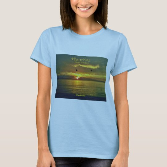 Negril Sunset Beachlife T's T-Shirt
