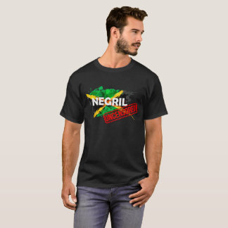 Negril UNCENSORED men's black t-shirt high quality