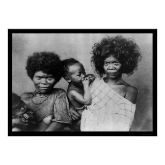 Negrito Women Philippines 1898 Poster