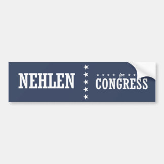 NEHLEN 2016 BUMPER STICKER
