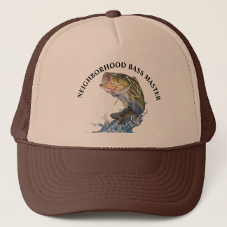 NEIGHBORHOOD BASS MASTER TRUCKER HAT