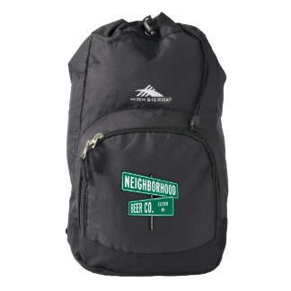 Neighborhood Beer Co. Black Backpack