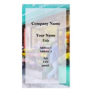 Neighborhood Flower Shop Business Card
