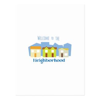 Neighborhood Welcome Postcard