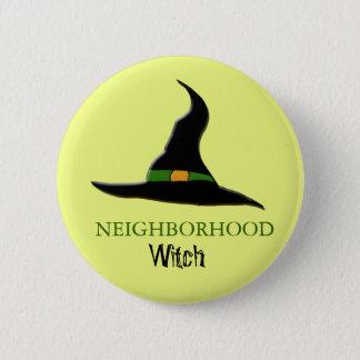 neighborhood witch 2 inch round button