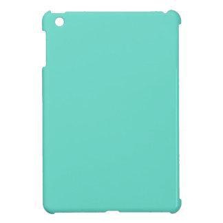 Neighborly Quietude Turquoise Blue Color iPad Mini Case