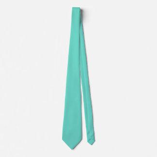 Neighborly Quietude Turquoise Blue Color Tie