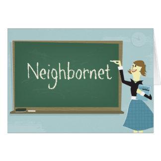 Neighbornet Greeting Card