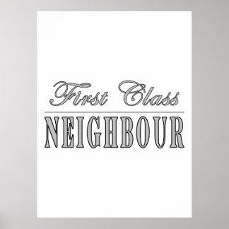 Neighbours First Class Neighbour Poster