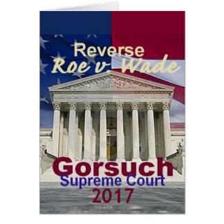 Neil GORSUCH Supreme Court Card