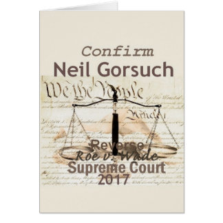 Neil GORSUCH Supreme Court Card