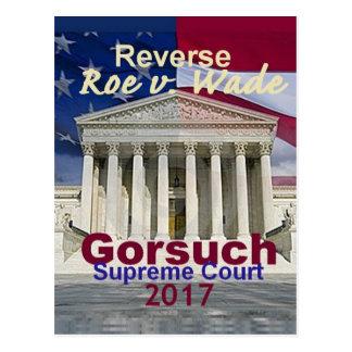 Neil GORSUCH Supreme Court Postcard