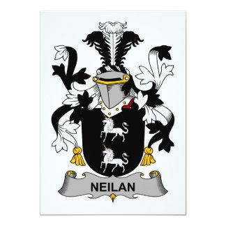 Neilan Family Crest Card