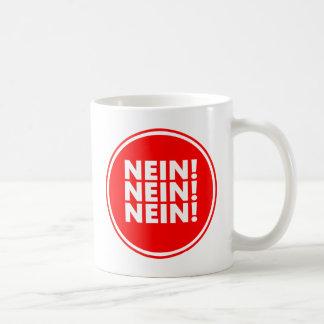 Nein! Nein! Nein! Basic White Mug