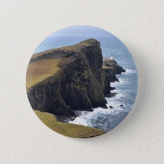 Neist Point Lighthouse 2 Inch Round Button